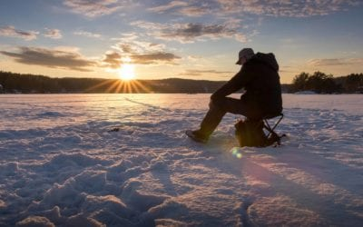 Best Ice Fishing Spots in Wisconsin